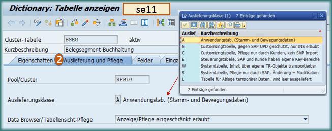 beschreibung layout anlegen in sap